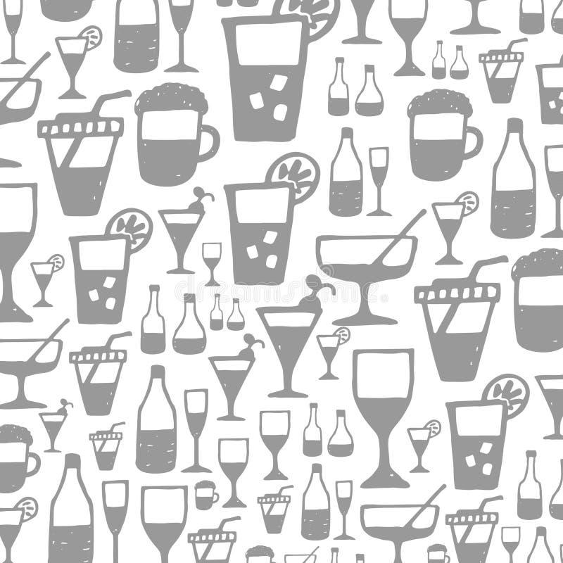 Alcool un background2 illustrazione vettoriale