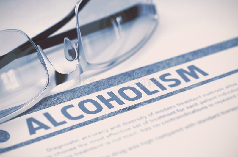alcoolisme médecine illustration 3D illustration de vecteur