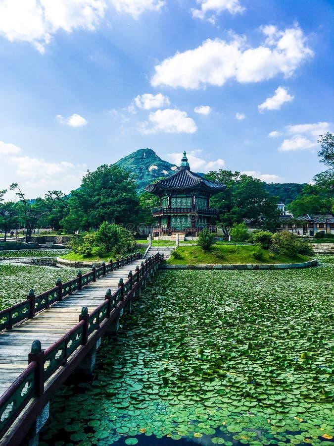 Alcova coreana fotos de stock royalty free