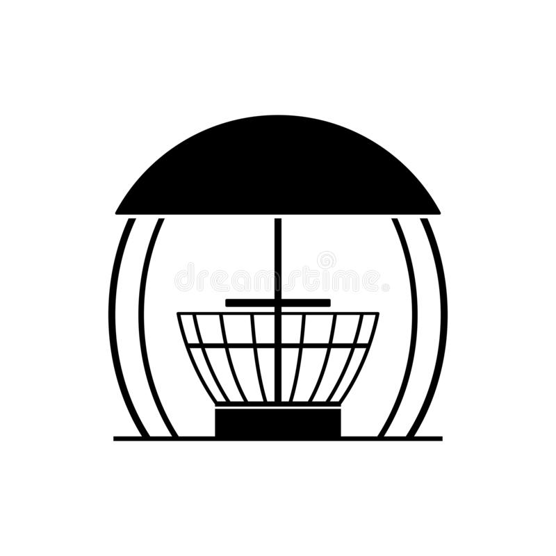 Alcova del gazebo, casa estiva del partito del BBQ del barbecue illustrazione di stock
