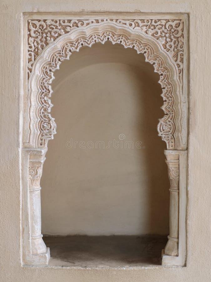 Alcove oriental fotografia de stock