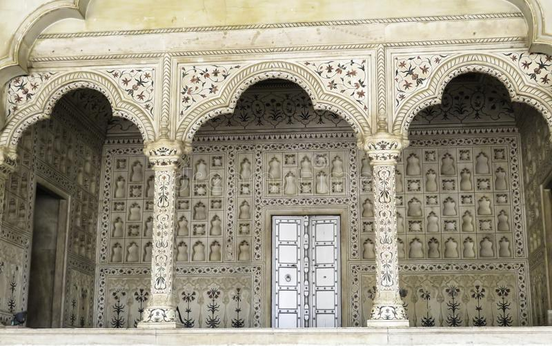 Fantastic Stonework With Fine Detail. stock images