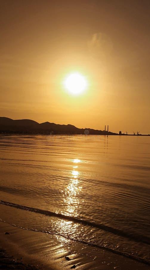 Alcudia海滩 库存图片