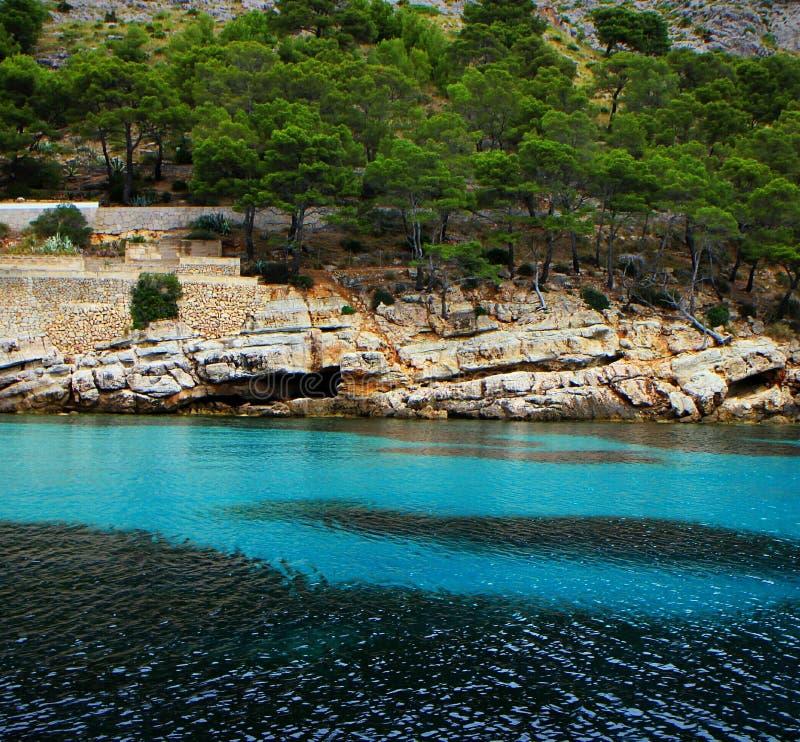 Alcudia del norte 2016 de Mallorca que bucea fotos de archivo libres de regalías