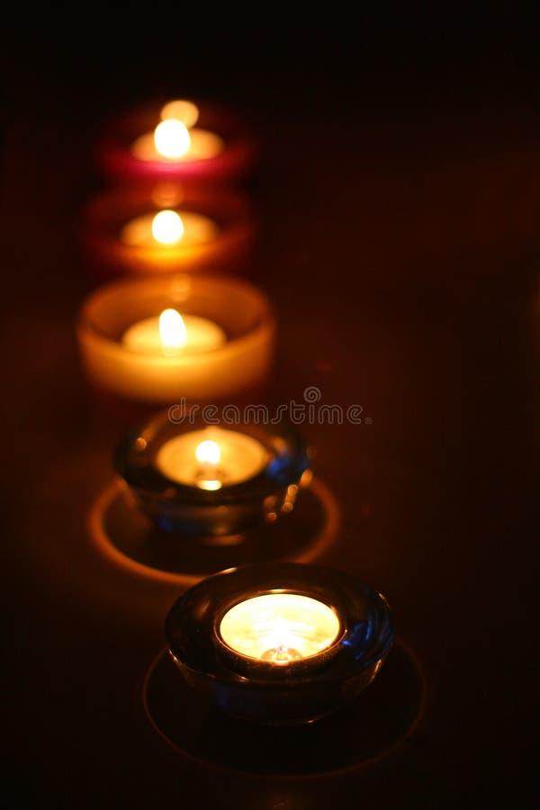 Alcuna della candela immagini stock libere da diritti