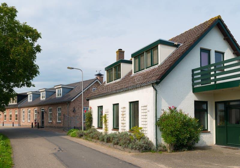 Alcune case del villaggio immagini stock libere da diritti