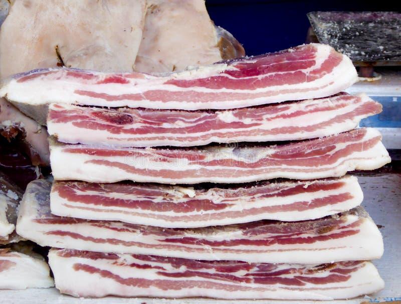 Alcuni pezzi di carne di maiale immagine stock libera da diritti