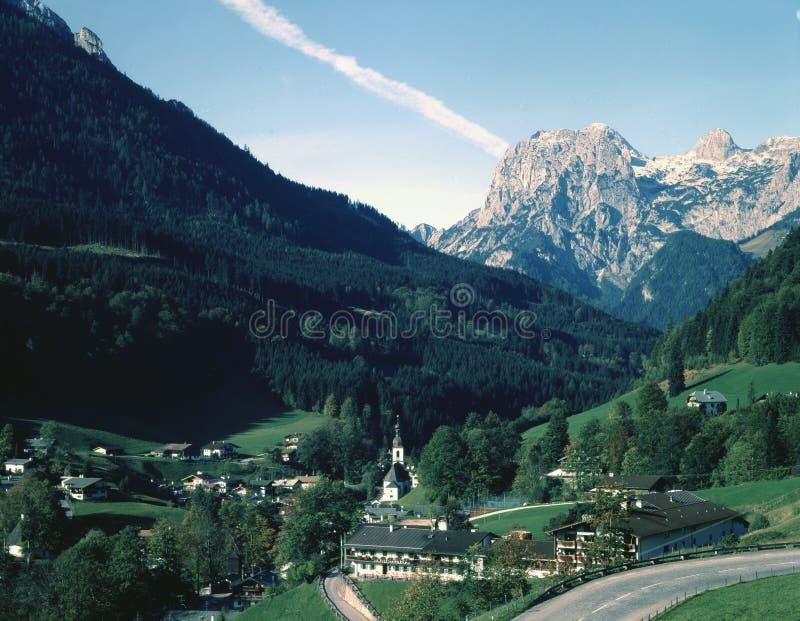 Aldea alemana fotografía de archivo libre de regalías