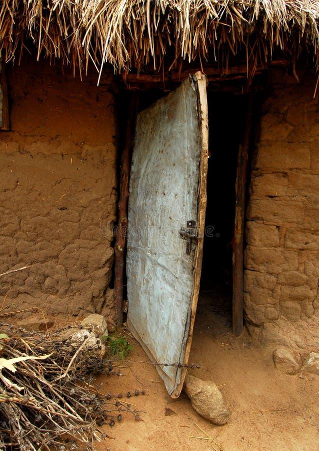 Aldea de África imagenes de archivo
