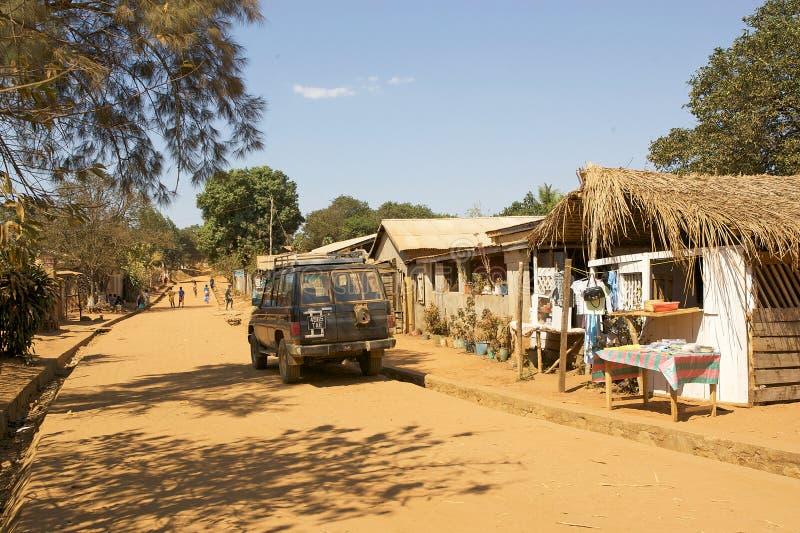 Aldea de Bekopaka foto de archivo libre de regalías