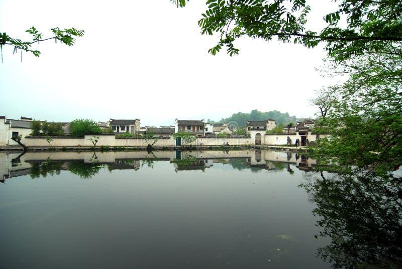 Aldea de Hong fotografía de archivo libre de regalías