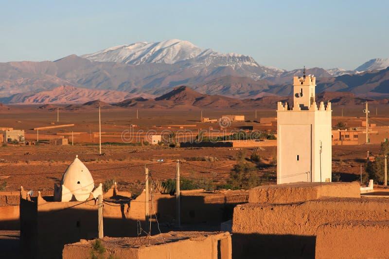 Aldea de Marruecos imagenes de archivo