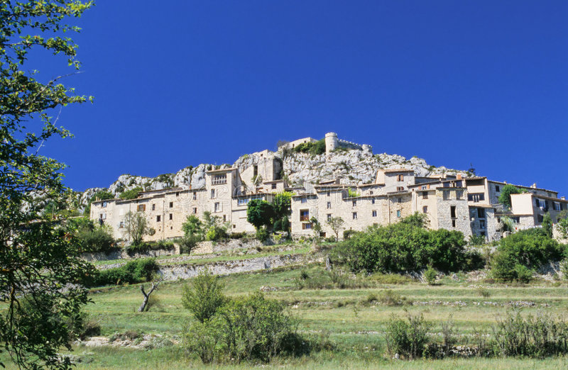 Aldea de Provence foto de archivo libre de regalías