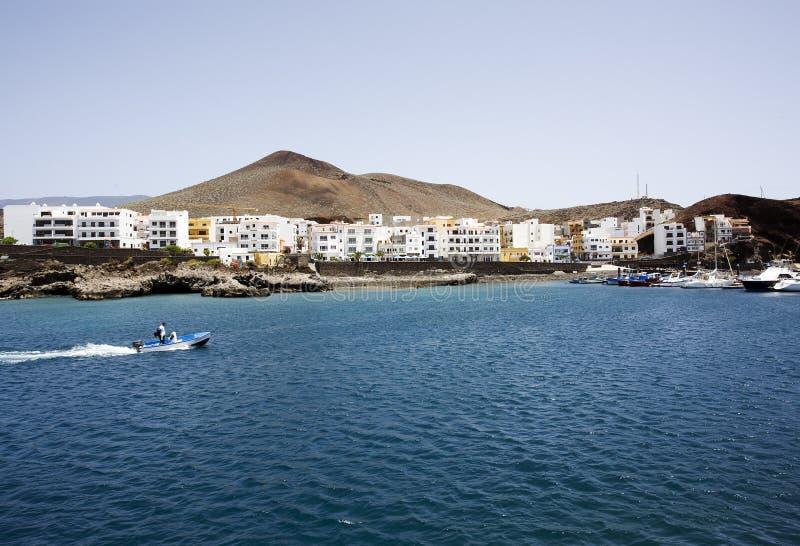 Aldea del La Restinga, EL Hierro, islas Canarias fotos de archivo