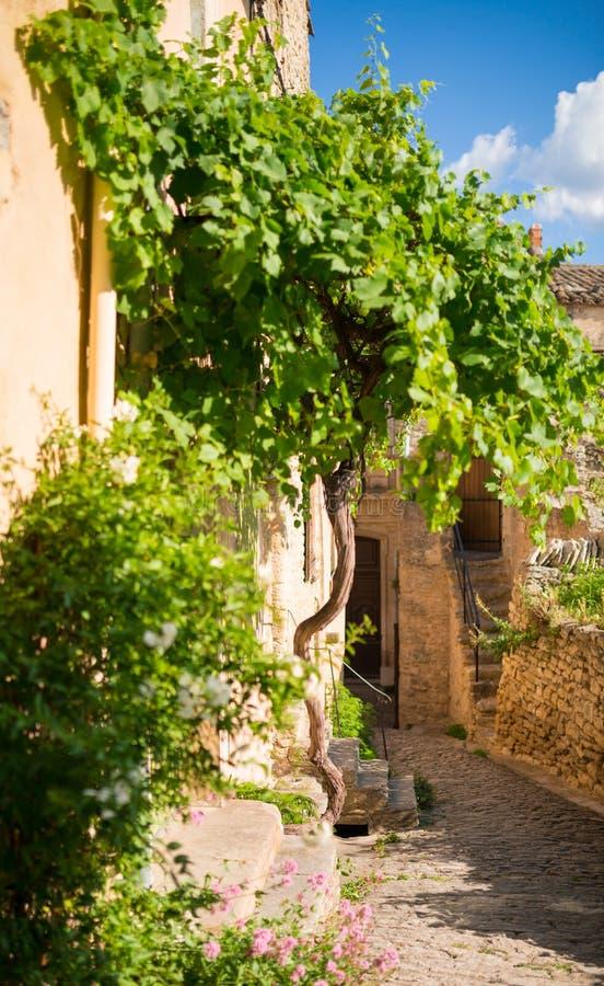 Aldea en Provence fotografía de archivo
