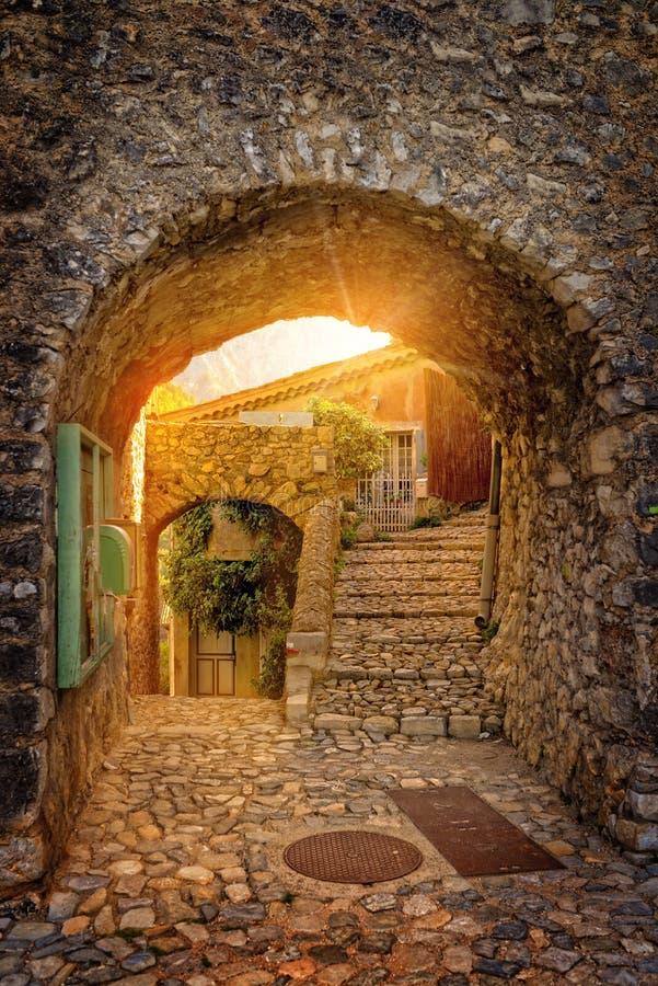 Aldea en Provence foto de archivo libre de regalías