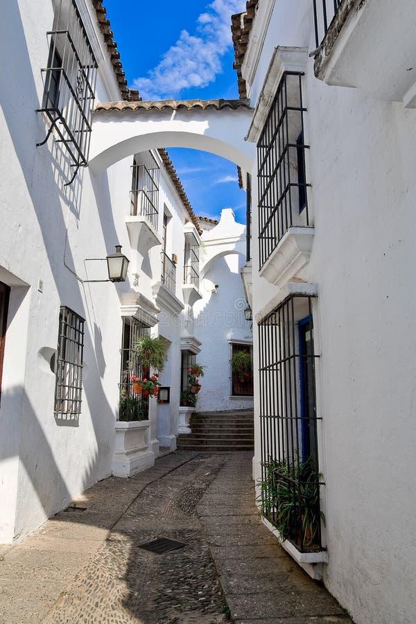 Aldea española foto de archivo libre de regalías