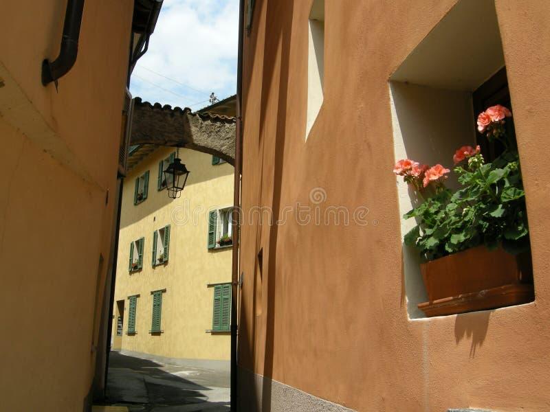 Aldea Italia de la terracota foto de archivo