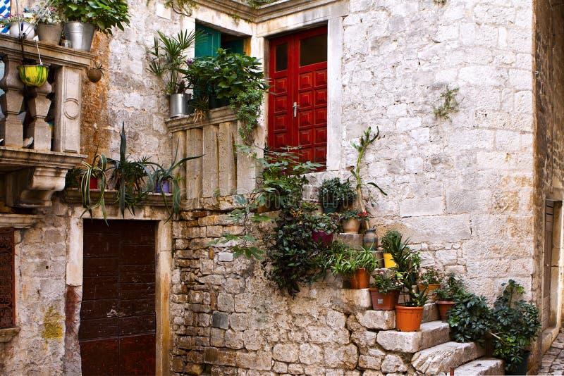 Aldea italiana, Toscana imagen de archivo libre de regalías