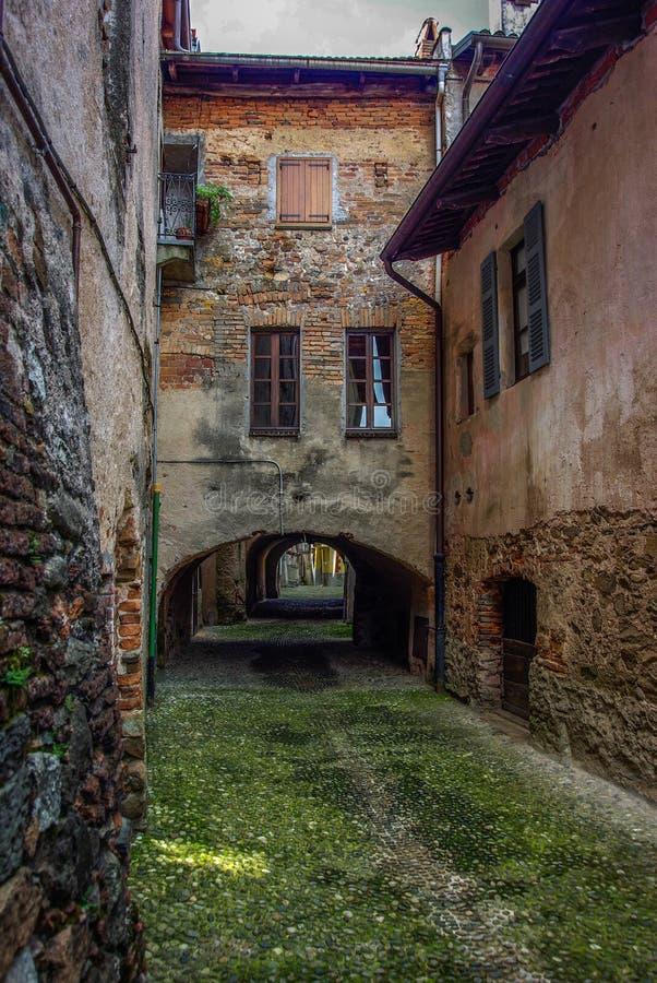 Aldea italiana vieja imágenes de archivo libres de regalías
