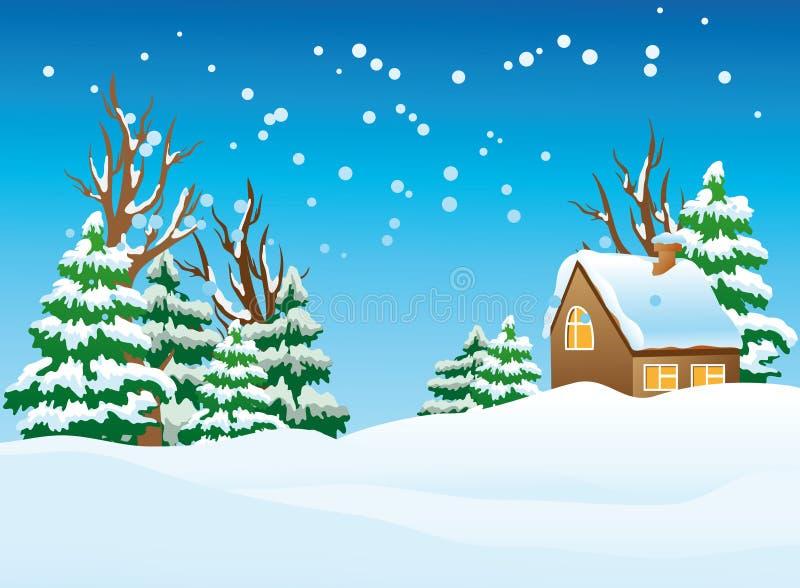 Aldea nevada libre illustration