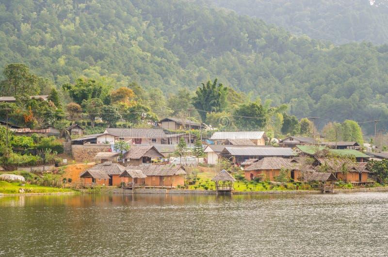 Aldea tailandesa de Rak foto de archivo libre de regalías