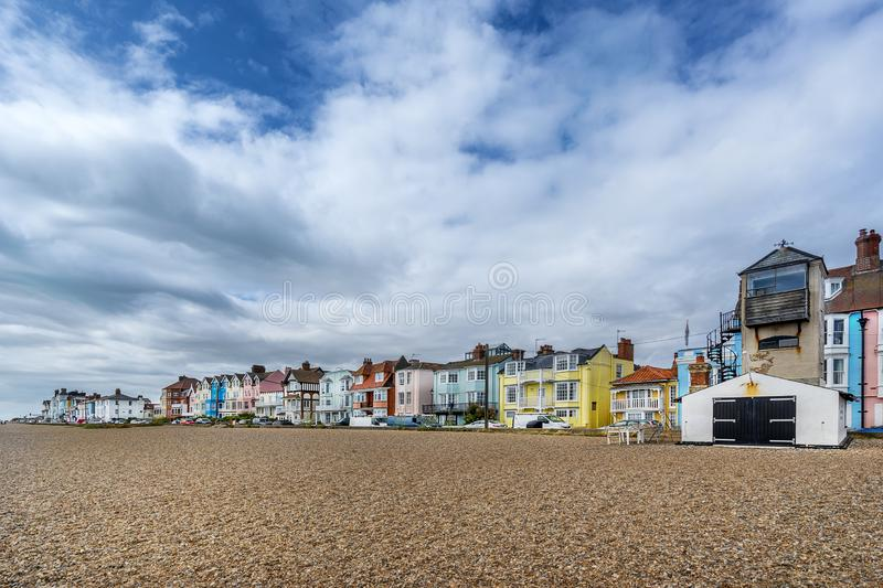 Aldeburgh in the county of Suffolk stock photo