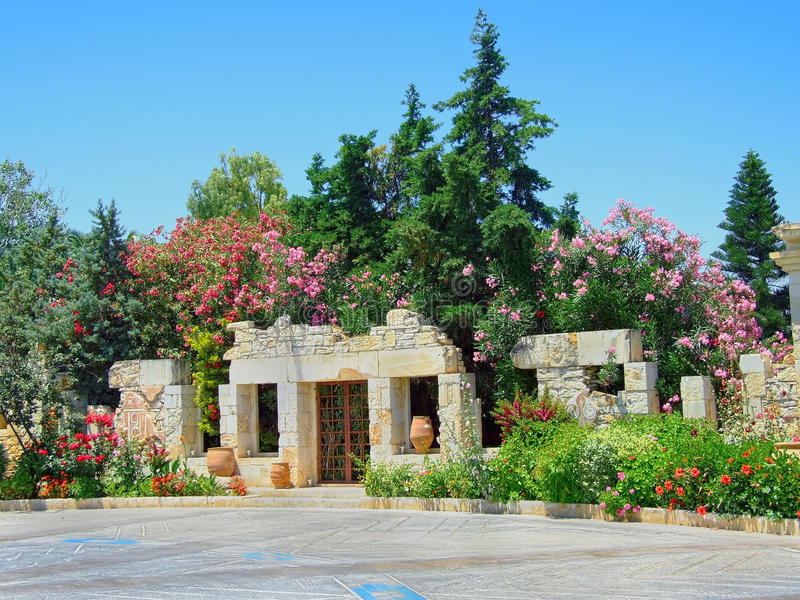 Aldemar Królewski Kobyli hotel w Hersonissos Crete zdjęcia stock