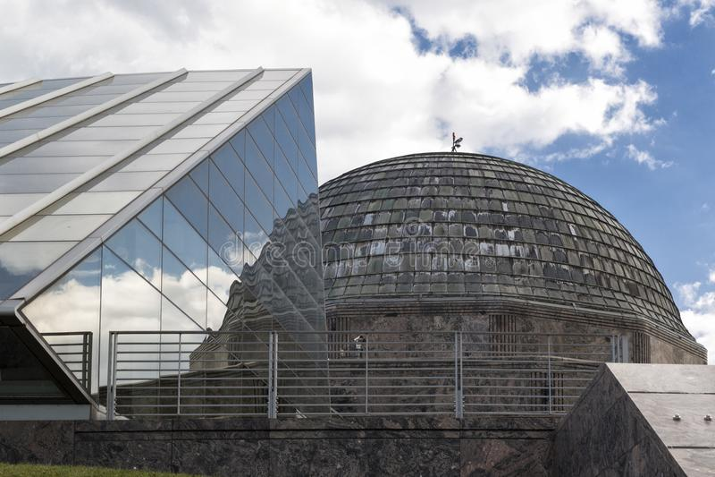 Alden Planetarium in Chicago. Illinois royalty free stock photo