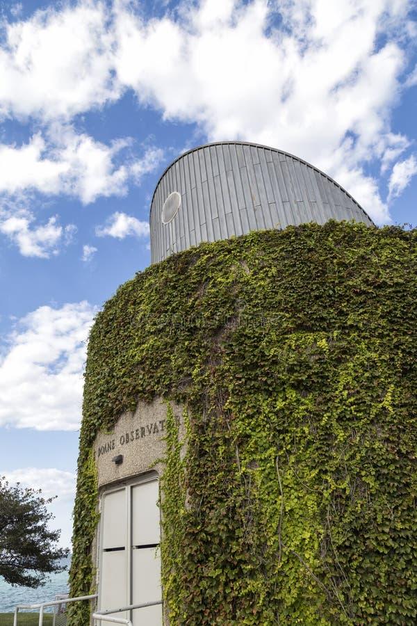 Alden Planetarium em Chicago foto de stock