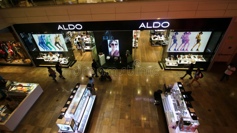ALDO Logo On Store Front Sign foto de stock royalty free