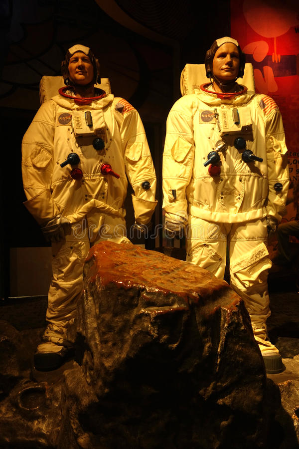 Aldrin βόμβου και κεριών του Neil Armstrong αριθμοί στοκ φωτογραφίες με δικαίωμα ελεύθερης χρήσης