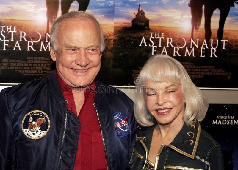 Aldrin βόμβου και Aldrin της Lois στοκ εικόνα με δικαίωμα ελεύθερης χρήσης