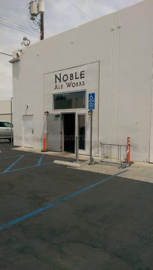 Ale Works noble imagen de archivo libre de regalías