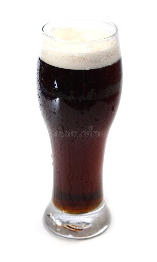 ale zimno piwa ciemno portera obraz stock