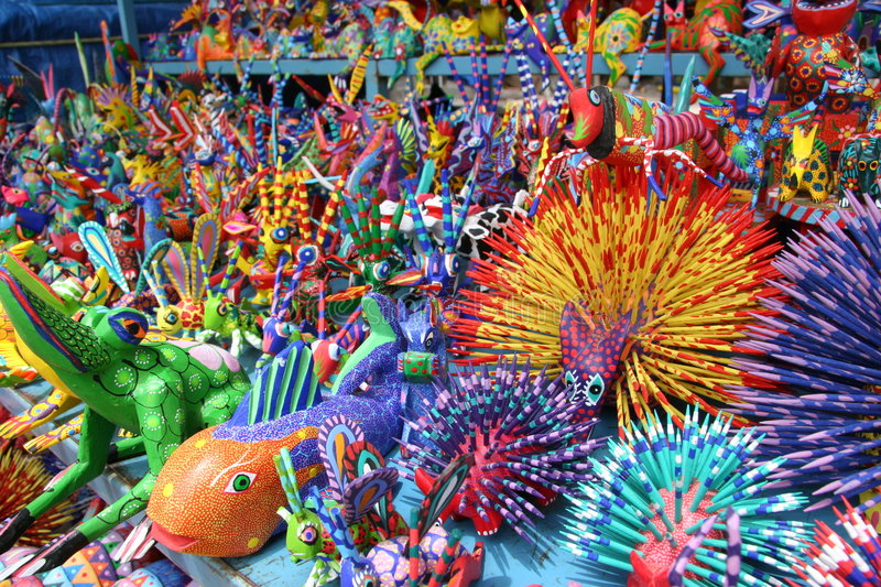 Alebrije stock photo
