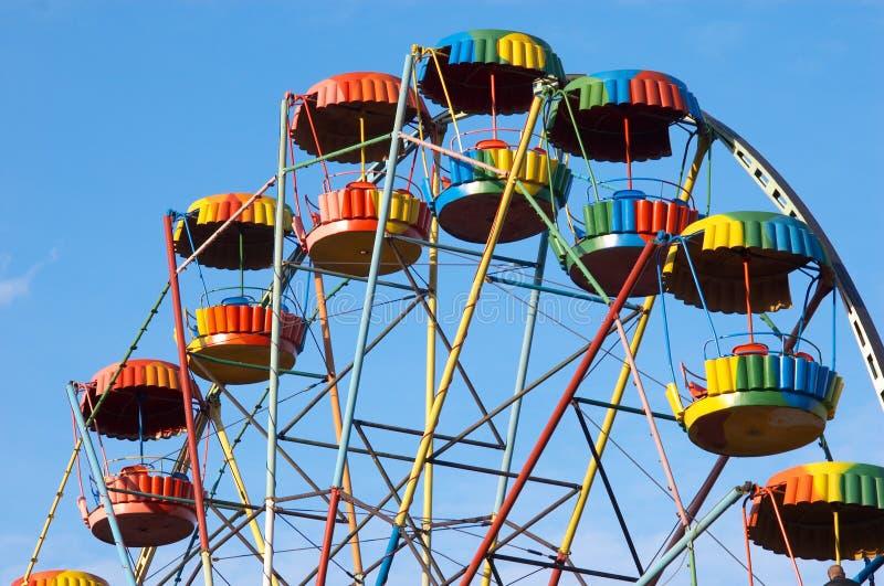 Alegría-rueda colorida imágenes de archivo libres de regalías