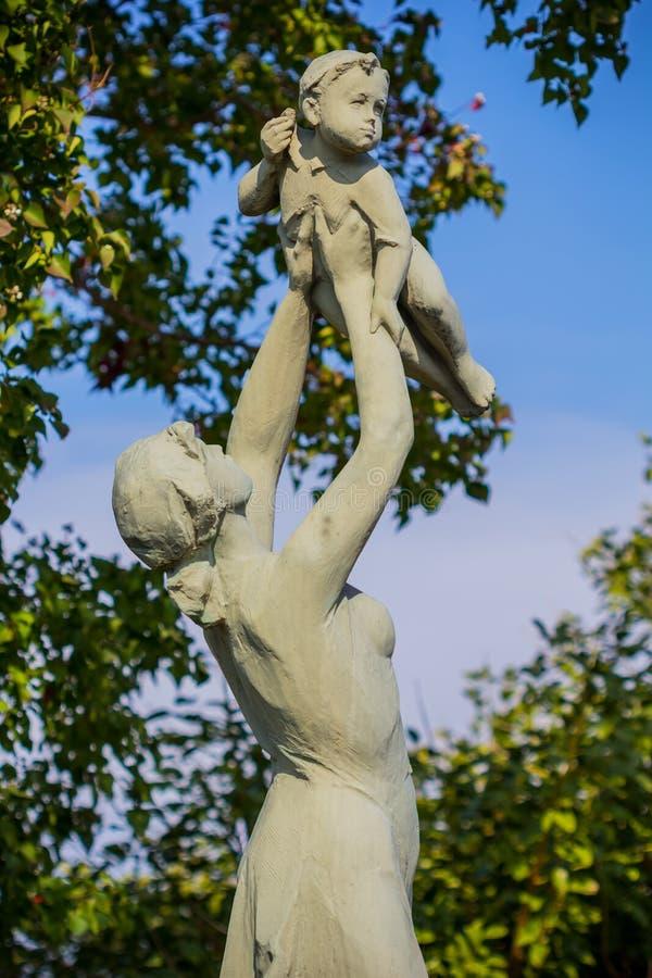 Alegria da vida no parque da paz de Nagasaki fotografia de stock
