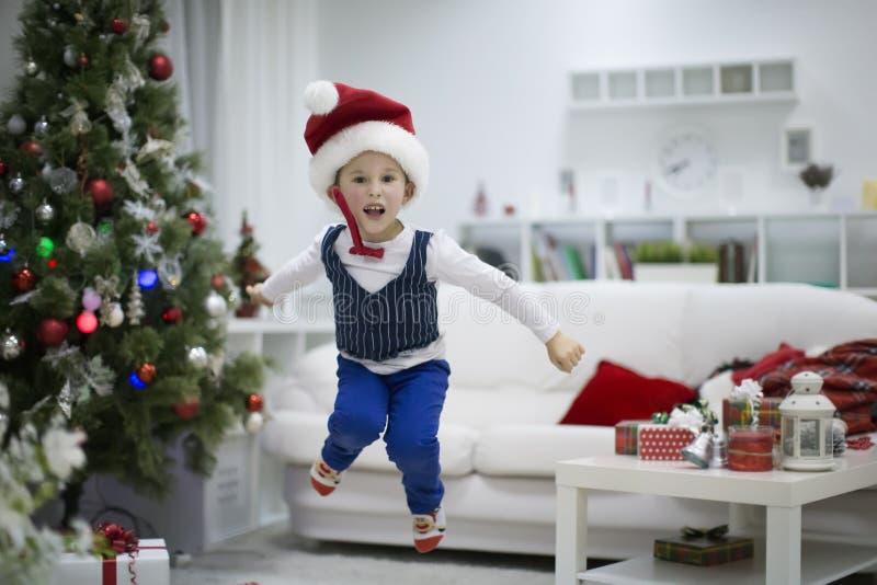 Alegria de feriados do Natal foto de stock