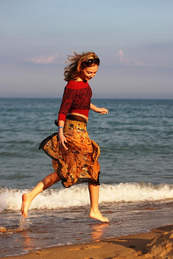 Alegria do mar imagens de stock