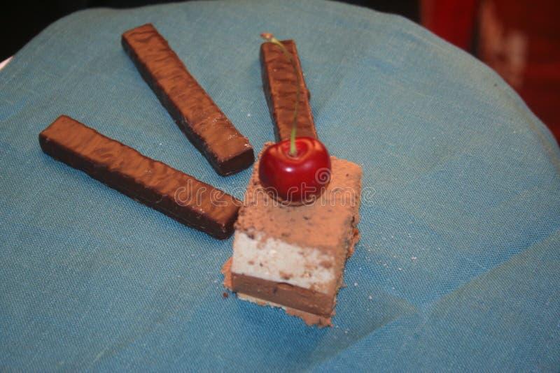 Alegria doce do gourmet da pastelaria imagens de stock royalty free