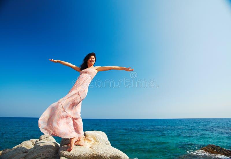 Alegria nas férias fotografia de stock royalty free