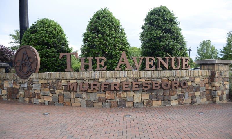 Alei centrum handlowe, Murfreesboro, Tennessee zdjęcia royalty free