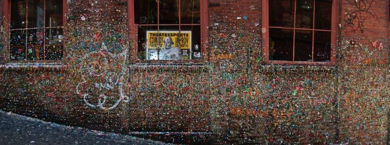 alei dziąsła poczta Seattle ściana zdjęcia royalty free