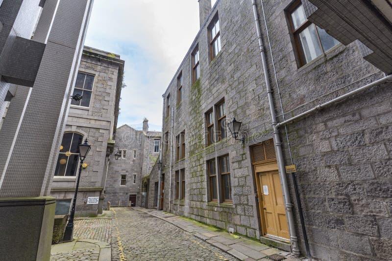 Aleia de Aberdeen fotos de stock royalty free