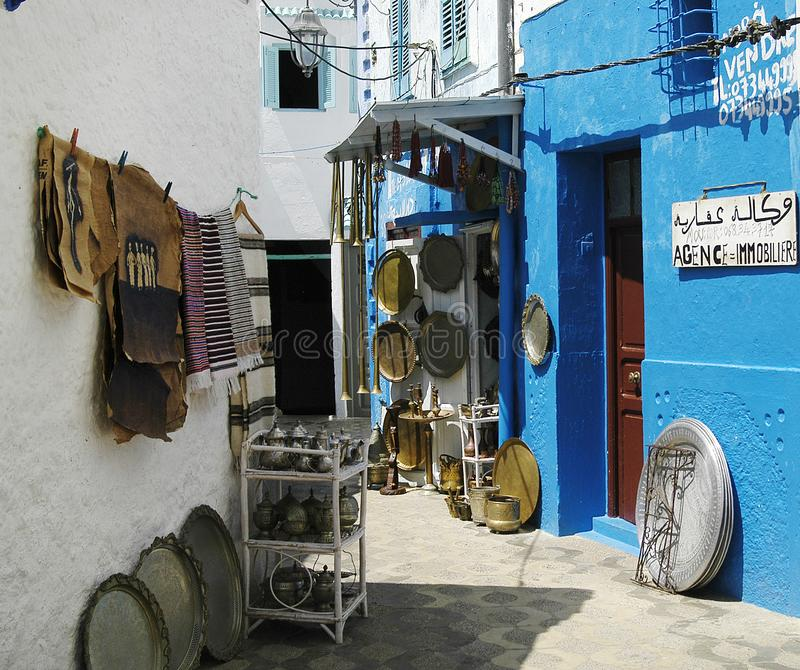 A aleia de Rabat imagens de stock royalty free