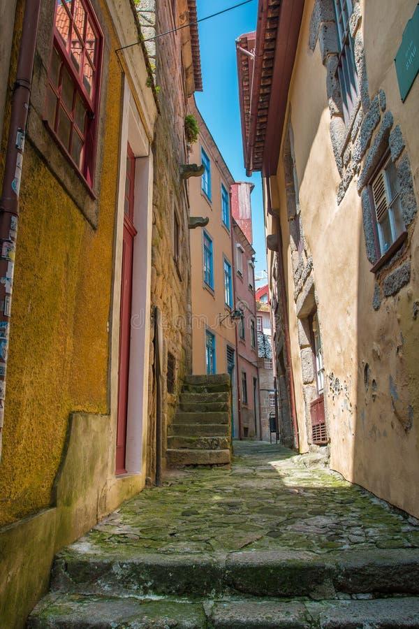 Aleia no Porto imagem de stock royalty free