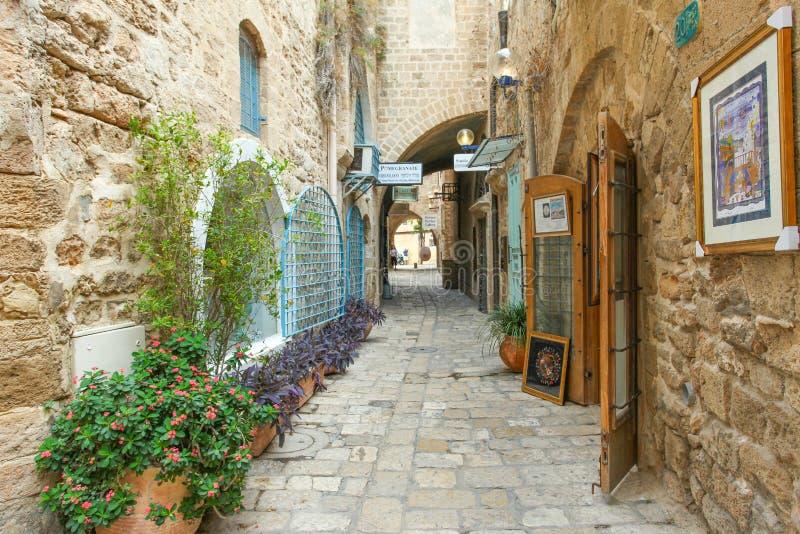 Aleia típica em Jaffa imagem de stock royalty free
