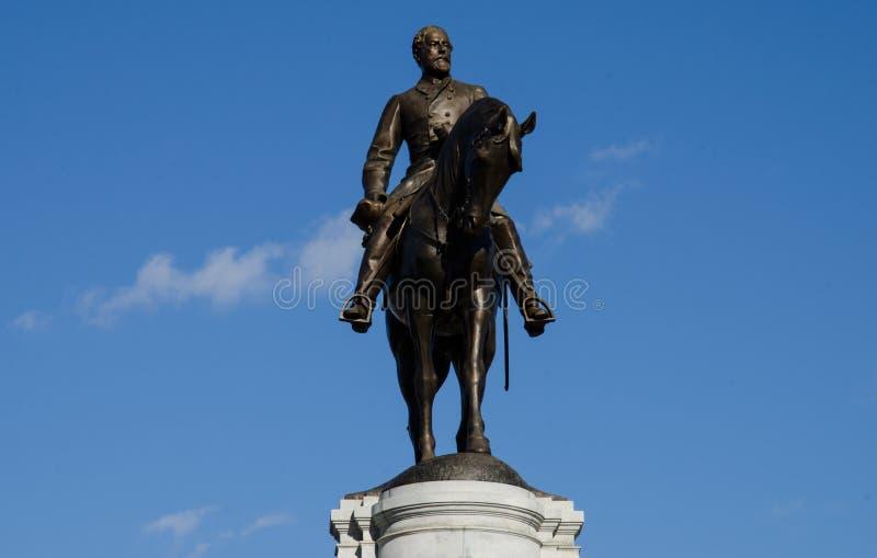 aleja e ogólny zawietrzny pomnikowy Richmond Robert Virginia lee obrazy royalty free