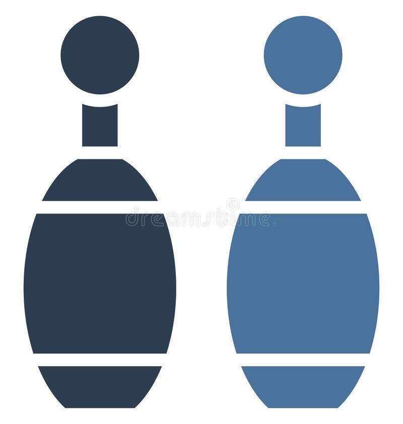 Aleja Przyczepia Odosobnioną Wektorową ikonę która może być łatwo redaguje lub modyfikuje ilustracja wektor